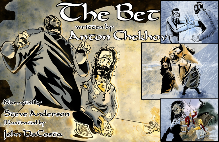 the theme of society and class in the short stories the bet by anton chekhov and the lottery by shir
